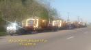 حمل دامپتراک100تنی بلاز (BELAZ) از مبدا بندر انزلی گمرک غاضیان به مقصد معدن مس رفسنجان توسط کمر شکن 7 محور شرکت حمل و نقل خلیج فارس ترابر