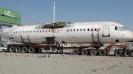 حمل هواپیما   30 متر طول  6متر ارتفاع  4.40 عرض