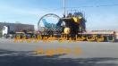 حمل دامپتراک 100تنی 785 از مبدا بندرعباس به مقصد معدن مس سونگون ورزقان توسط کمر شکن 10 محور شرکت خلیج فارس ترابر