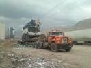 حمل جرثقیل 80 تن  لیبهر از مبدا ماری ترکمنستان به بازرگان ایران