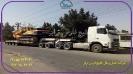 حمل بیل مکانیکی 430 هیوندای از بندرعباس به اصفهان توسط کمرشکن9محور