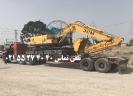 حمل بیل مکانیکی 921C توسط کمرشکن 5 محور