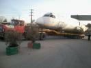 حمل هواپیما  توسط کمرشکن