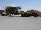 حمل دامپتراک توسط کمرشکن 7 محور خلیج فارس ترابر