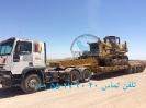 حمل بلدوزر توسط کمرشکن 7 محور ویژه خلیج فارس ترابر