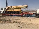 حمل پمپ بتن توسط کمرشکن 7 محور خلیج فارس ترابر