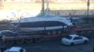 حمل قایق تفریحی از خرمشهر به بومهن