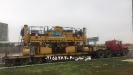 حمل ماشین آلات راهسازی آسفالت تراش توسط کمرشکن 7 محور خلیج فارس ترابر