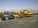 حمل دستگاه حفاری به کربلا جهت پروژه بین الحرمین توسط کمرشکن 11 محور شرکت خلیج فارس ترابر
