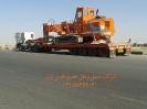 حمل دستگاه حفاری از مبدا تهران به مقصد گلگهرسیرجان توسط کمرشکن 7 محور شرکت حمل و نقل خلیج فارس ترابر