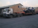 حمل جرثقیل سنگین ترافیکی حمل توسط کمرشکن شرکت حمل ونقل خلیج فارس ترابر