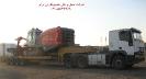 حمل دستگاه حفاری دریل واگن از مبدا تهران به مقصد معدن جلال آباد زرند توسط کمرشکن 7 محور شرکت حمل و نقل خلیج فارس ترابر