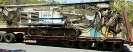 حمل دستگاه حفاری سویلمک SR70 توسط کمرشکن ویژه پل دار