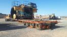 حمل دامپ  ( Dump )توسط کمرشکن 11 محور ویژه خلیج فارس ترابر _1