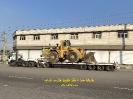 حمل لودر 998 F کاترپیلار ( Caterpillar F998) از مبدا شمس آباد به مقصد معادن سنگ کاشان توسط کمرشکن 9 محور ویژه ارتفاع کوتاه
