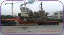 حمل دستگاه حفاری SR60 توسط