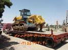 حمل بلدوزر  Komatsu D155 A توسط کمرشکن7 محور  ویژه حمل و نقل خلیج فارس ترابر