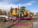 حمل Loader Caterpillar 988   توسط کمرشکن 9محور ارتفاع کوتاه شرکت خلیج فارس ترابر