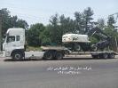 حمل بیل لاستیکیMHK 200W از مبدا بندرعباس به مقصد تهران توسط کمرشکن 5 محور پل دار شرکت حمل و نقل خلیج فارس ترابر