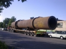 کوره به طول 24 متر و وزن 58 تن