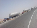 حمل مخزن به قطر 5 متر و طول 14 متر