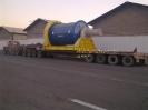 لوازم نیروگاهی به وزن 60 تن حمل توسط کمرشکن 11 محور شرکت حمل ونقل خلیج فارس ترابر