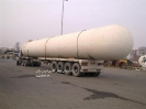 مخزن سیلندر گاز به طول 30متر