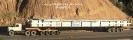 حمل کیسینگ (لوازم نیروگاهی مپنا) بوزن 65 تن به طول 35 متر از مبدا تهران به مقصد آبادان توسط سیستم پایپ 11 محور صفحه گردان