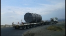 حمل روتور توربین به نیروگاه شهید رجایی