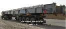 حمل لوازم نیروگاهی توسط تریلی کفی کشویی 7 محورشرکت حمل و نقل خلیج فارس ترابر