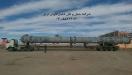 حمل مخازن پالایشگاهی از مبدا اسکله شهید رجایی بندرعباس به مقصد پالایشگاه گاز و بنزین بخارای ازبکستان توسط کمرشکن 7 محور شرکت حمل و نقل خلیج فارس ترابر