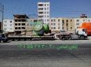 حمل تجهیزات نیروگاه بادی توسط کمرشکن ویژه خلیج فارس ترابر به مقصد نیروگاه کهک ـ تاکستان