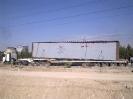 قطعات پیش ساخته پل به وزن48 تن حمل از تهران  به شیراز
