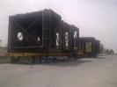 قطعات پیش ساخته فولاد مبارکه ارتفاع 6.70 عرض 5.5 متر محموله ترافیکی